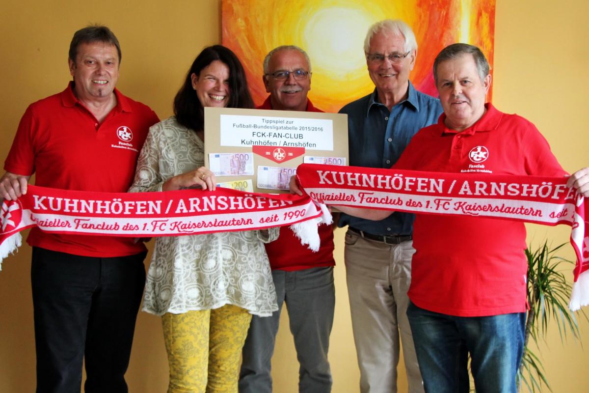 FCK-Fanclub Spende für Hospiz